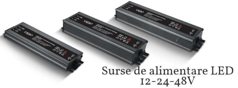 Surse de alimentare LED 24V Dimabile Ip67 Ip65 Ip20
